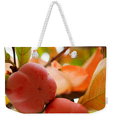Weekender Tote Bag featuring the photograph Sweet Fruit by Erika Weber