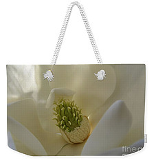 Sweet Magnolia Weekender Tote Bag by Peggy Hughes