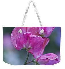 Sweet Pea In Pink Weekender Tote Bag