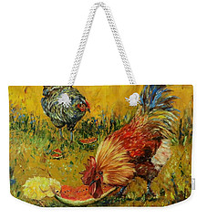 Sweet Pickins, Chickens Weekender Tote Bag