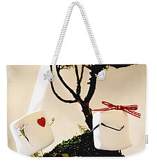 Sweet Surprise Weekender Tote Bag by Heather Applegate