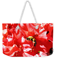Weekender Tote Bag featuring the photograph Sweet Surrender by Robyn King