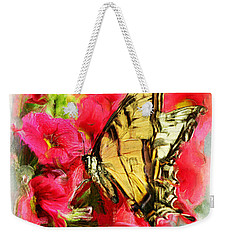 Sweet Swallowtail Weekender Tote Bag
