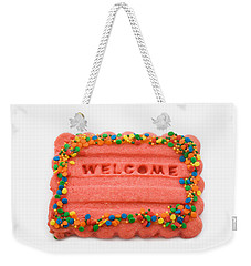 Sweet Welcome Mat Weekender Tote Bag