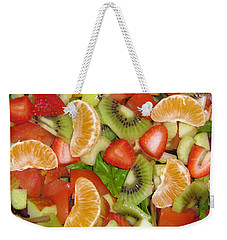 Sweet Yummies Weekender Tote Bag by Janice Westerberg