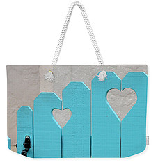 Sweetheart Gate Weekender Tote Bag by Art Block Collections