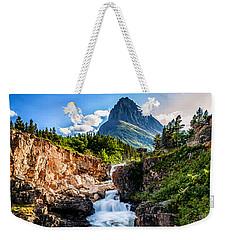 Swiftcurrent Falls Weekender Tote Bag