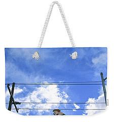 Swim Here Weekender Tote Bag