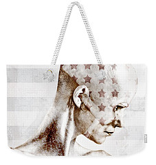 Swimmer Weekender Tote Bag by Johan Lilja