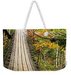 Swinging Bridge Weekender Tote Bag