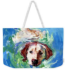 Swirl Pool Weekender Tote Bag by Molly Poole