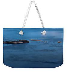 Swirling Currents Weekender Tote Bag