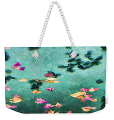 Swirling Leaves And Petals 6 Weekender Tote Bag