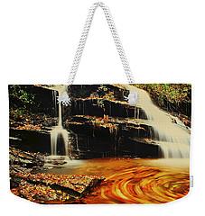 Swirling Leaves Weekender Tote Bag by Rodney Lee Williams