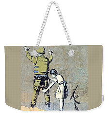 Switch Roles Weekender Tote Bag by Munir Alawi
