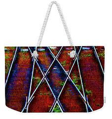 Center Diamond Weekender Tote Bag