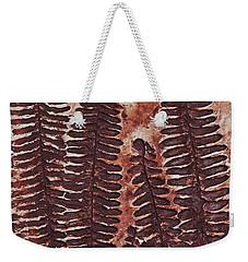 Sword Fern Fossil Weekender Tote Bag