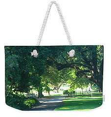 Weekender Tote Bag featuring the photograph Sydney Botanical Gardens Walk by Leanne Seymour