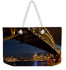 Weekender Tote Bag featuring the photograph Sydney Harbour Bridge by Miroslava Jurcik