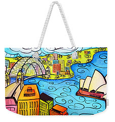 Sydney Harbour  Weekender Tote Bag