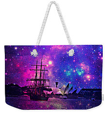 Weekender Tote Bag featuring the photograph Sydney Harbour Through Time And Space by Leanne Seymour