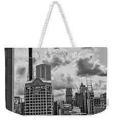 Sydney Skyline Weekender Tote Bag by Douglas Barnard