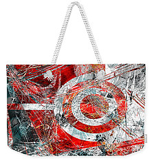 Weekender Tote Bag featuring the digital art Symmetry by Fine Art By Andrew David