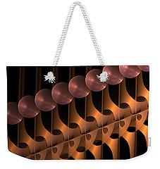 Weekender Tote Bag featuring the digital art Symphony by Gabiw Art