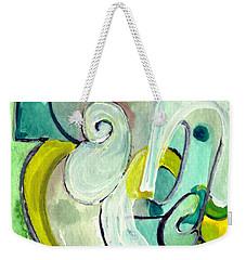 Symphony In Green Weekender Tote Bag