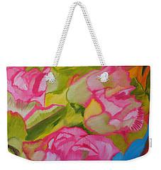 Symphony Of Roses Weekender Tote Bag