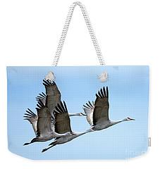 Synchronized Weekender Tote Bag by Mike Dawson