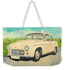 Syrena 105 - Polish Car Weekender Tote Bag