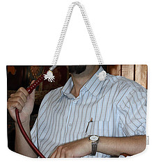 Syrian Man And Waterpipe Weekender Tote Bag