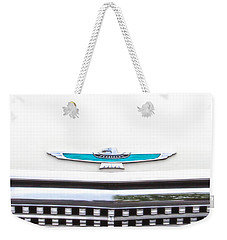 T-bird Hood Weekender Tote Bag by Jerry Fornarotto