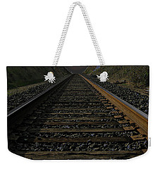 T Rails Weekender Tote Bag by Janice Westerberg