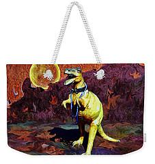 T-rex Escapes Weekender Tote Bag