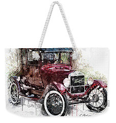 The 1926 Ford Model T Weekender Tote Bag by Gary Bodnar