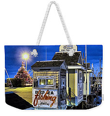T Wharf Plymouth Massachusetts  Weekender Tote Bag