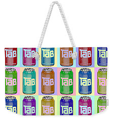 Tab Ode To Andy Warhol Repeat Horizontal Weekender Tote Bag