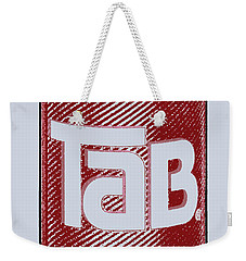 Tab Ode To Andy Warhol Weekender Tote Bag