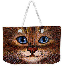 Tabby Weekender Tote Bag by Natalie Holland