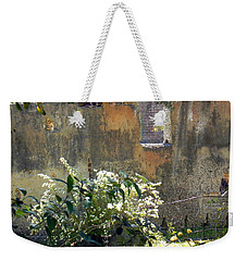 Tabby On The Old Point Weekender Tote Bag by Patricia Greer