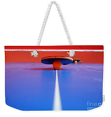 Table Tennis Weekender Tote Bag