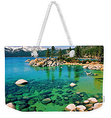 Tahoe Bliss Weekender Tote Bag by Benjamin Yeager