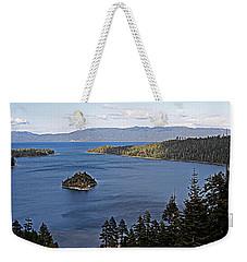 Lake Tahoe's Emerald Bay Weekender Tote Bag