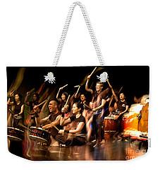 Taiko Flow Weekender Tote Bag
