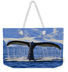 Tails From Antarctica Weekender Tote Bag