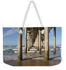 Weekender Tote Bag featuring the photograph Take A Break by Tammy Espino