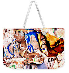 Weekender Tote Bag featuring the photograph Take A Stand by Christiane Hellner-OBrien