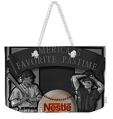 Take Me Out To The Ball Game Weekender Tote Bag by Janice Westerberg